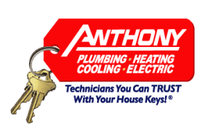 Anthony Plumbing, Heating, Cooling, Electric Logo with Keys