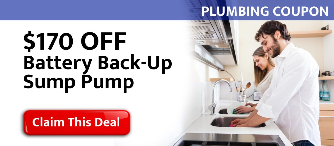 $170 Off Battery Back-Up Sump Pump